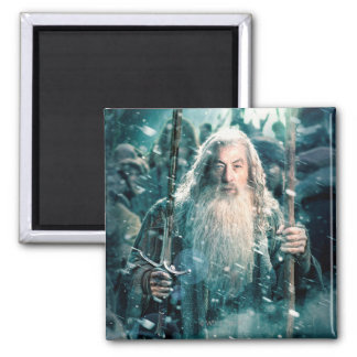 Gandalf The Gray 2 Inch Square Magnet