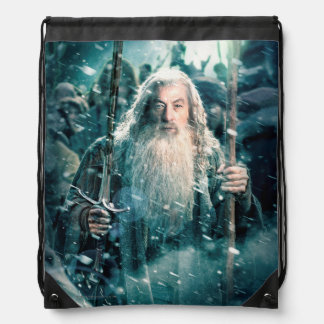 Gandalf The Gray Drawstring Bag
