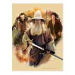 Gandalf, Thorin, Bilbo Postales