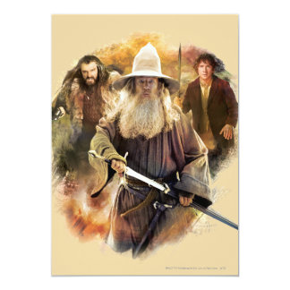Gandalf, THORIN OAKENSHIELD™, & BAGGINS™ Card