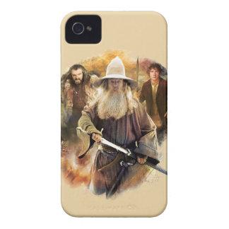 Gandalf, THORIN OAKENSHIELD™, & BAGGINS™ iPhone 4 Cover