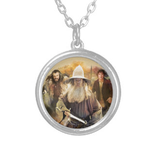 Gandalf, THORIN OAKENSHIELD™, & BAGGINS™ Round Pendant Necklace