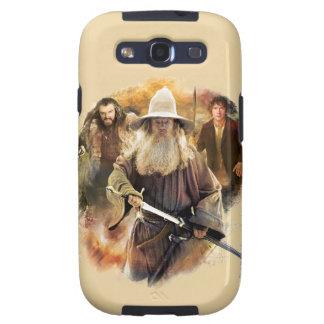 Gandalf, THORIN OAKENSHIELD™, y BAGGINS™ Samsung Galaxy S3 Cobertura