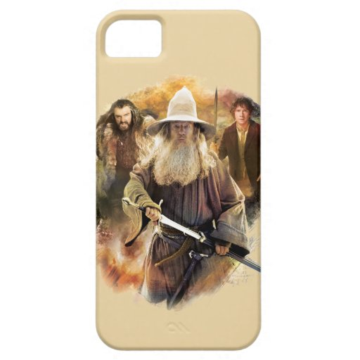 Gandalf, THORIN OAKENSHIELD™, y BAGGINS™ iPhone 5 Case-Mate Protectores