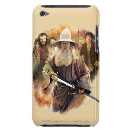 Gandalf, THORIN OAKENSHIELD™, y BAGGINS™ Funda Case-Mate Para iPod