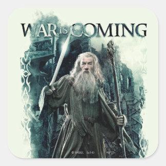 Gandalf - War Is Coming Square Sticker