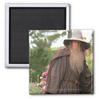 Gandalf with Hat 2 Inch Square Magnet