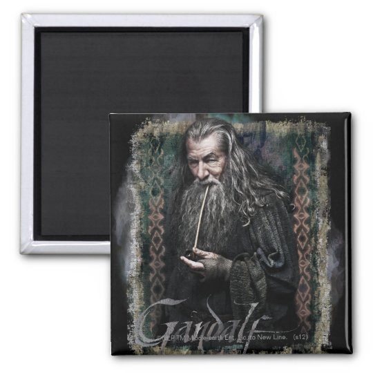 Gandalf With name Magnet