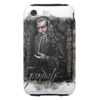 Gandalf With name Tough iPhone 3 Cover