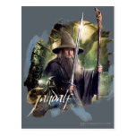 Gandalf With Staff And Sword Postcard