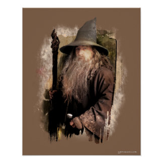 Gandalf With Staff Posters