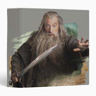 Gandalf With Sword 3 Ring Binder