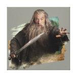 Gandalf With Sword Canvas Print
