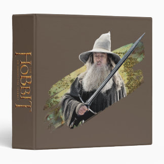 Gandalf With Sword Green Binder