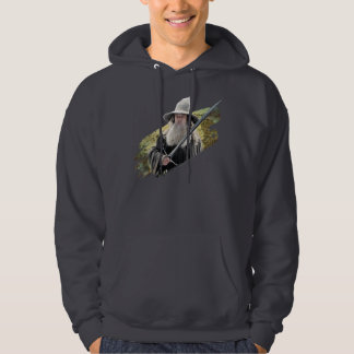 Gandalf With Sword Green Hoodie