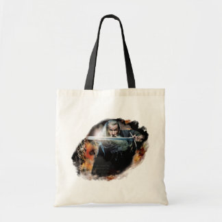 Gandalf With Sword In Battle Budget Tote Bag