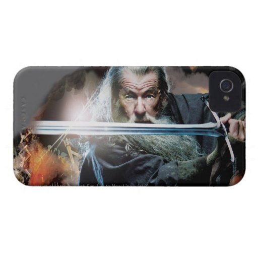 Gandalf With Sword In Battle Case-Mate iPhone 4 Case