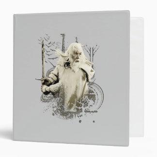 Gandalf with Sword Vector Collage Vinyl Binders