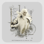 Gandalf with Sword Vector Collage Sticker