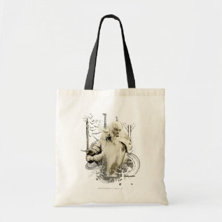 Gandalf with Sword Vector Collage Tote Bag