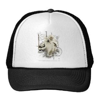 Gandalf with Sword Vector Collage Trucker Hat