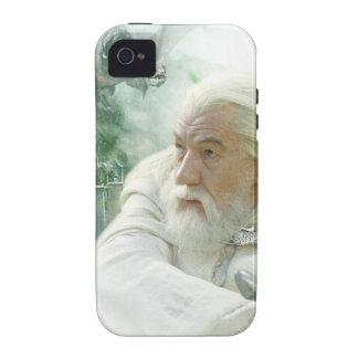 Gandalf y el Witchking iPhone 4 Carcasas