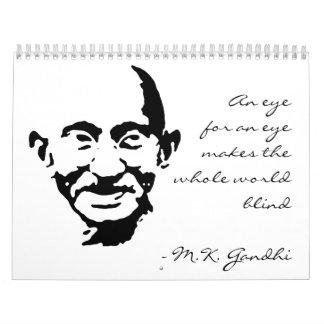 Gandhi 2012-13 Calender Calendar