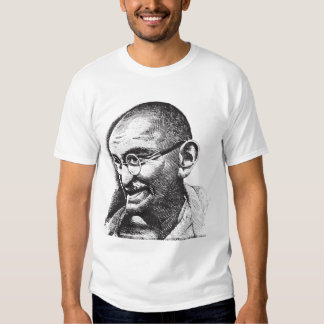 Gandhi, An Eye for an Eye T-shirt