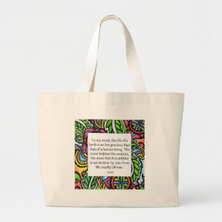 Gandhi Animal Quote Bags