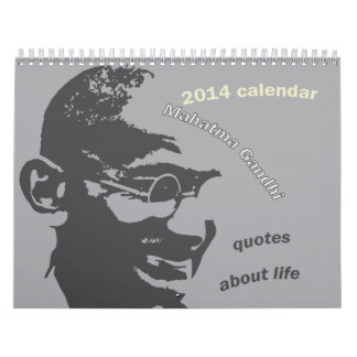 Gandhi Calendar 2014