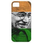 Gandhi + Caso indio del iPhone 5C de la bandera Funda Para iPhone 5 Barely There