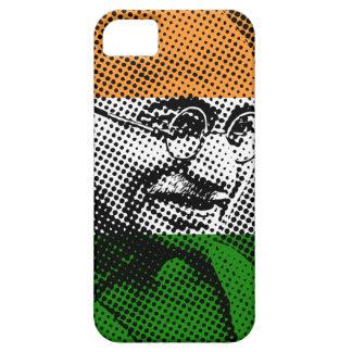 Gandhi + Caso indio del iPhone 5C de la bandera Funda Para iPhone SE/5/5s