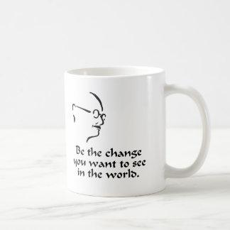 Gandhi - Change Mug