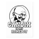 Gandhi es mi Homeboy Tarjeta Postal