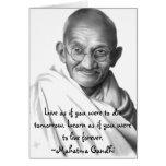 Gandhi Greeting Cards