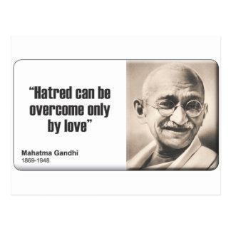 Gandhi: Hatred Postcard