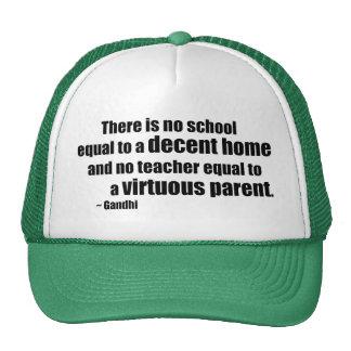 Gandhi Homeschool Mesh Hat