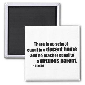 Gandhi Homeschool Magnet