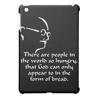 Gandhi Hunger iPad Mini Case