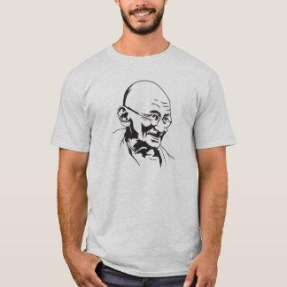 gandhi india retro portrait stencil  T-Shirt