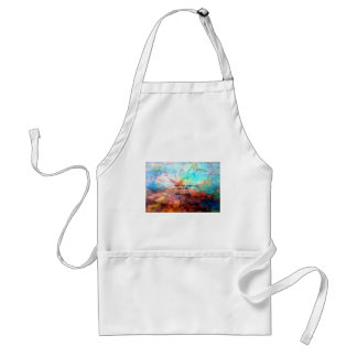 Gandhi Inspirational Quote about Love, Life & Hope Adult Apron