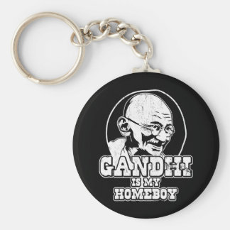 Gandhi is my Homeboy Keychain