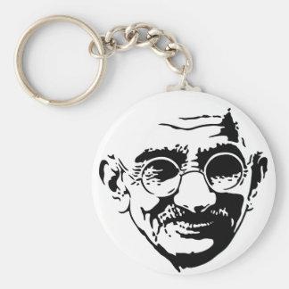 Gandhi Llavero Redondo Tipo Pin