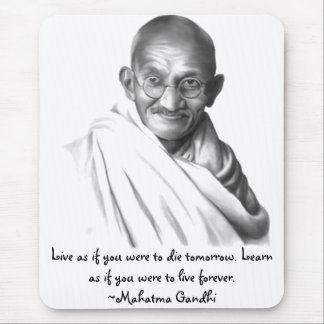 Gandhi Mouse Pad