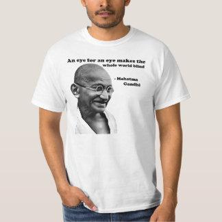 Gandhi: Ojo para un ojo Poleras