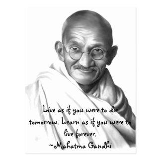Gandhi Postcard