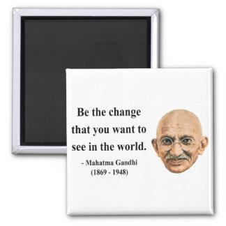 Gandhi Quote 1b 2 Inch Square Magnet