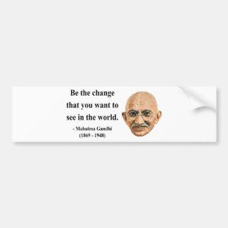 Gandhi Quote 1b Bumper Sticker