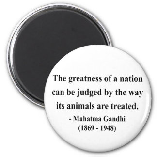 Gandhi Quote 2a 2 Inch Round Magnet