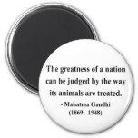 Gandhi Quote 2a Magnet